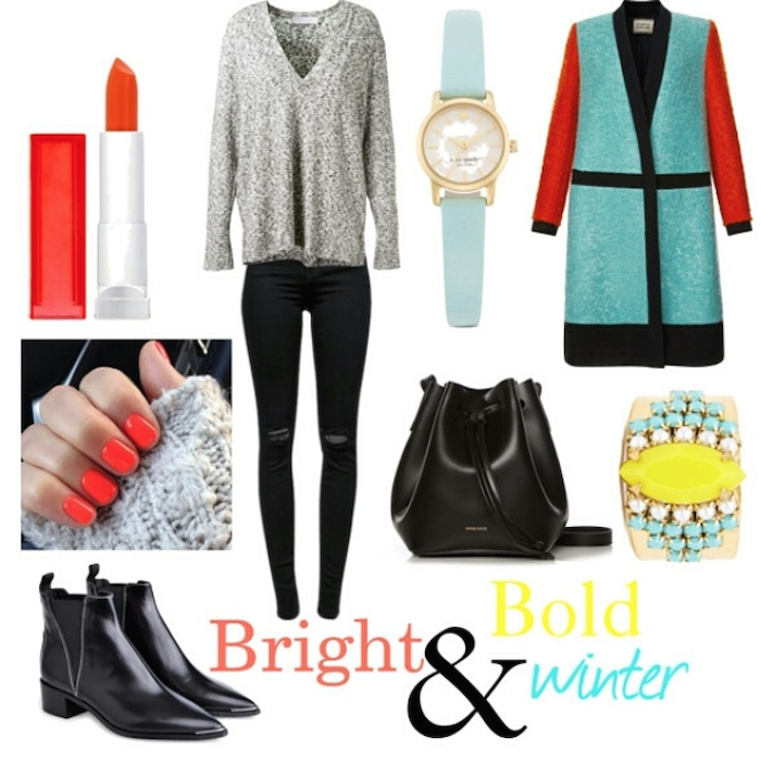 BRIGHT AND BOLD