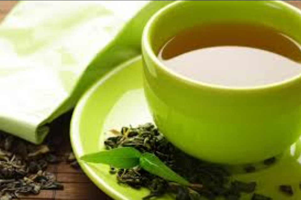fitness with Fidaah Edries with Style Africa - green tea