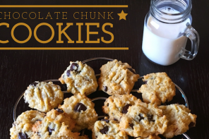 CHOCOLATE CHUNK COOKIES ANYONE ?