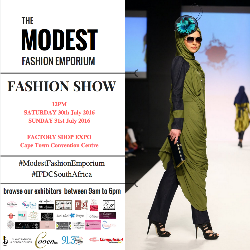 The Modest Fashion Emporium Style Africa Roshan Isaacs Islamic Fashion and Design Council IFDCSouthAfrica