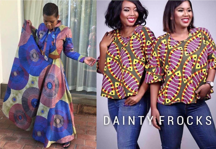 dainty frocks homemade out of this world style africa