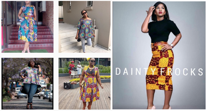 dainty frocks homemade popup boutique out of this world style africa