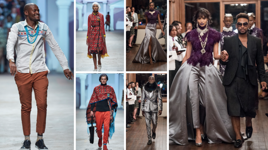 THE EXPLOITS OF SOUTH AFRICAN DESIGNERS