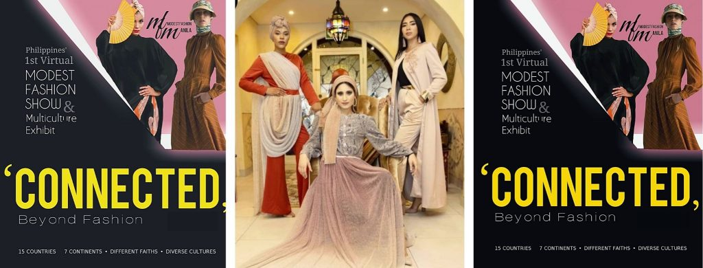 Africa to the Orient with Philippines Virtual Modest Fashion Show